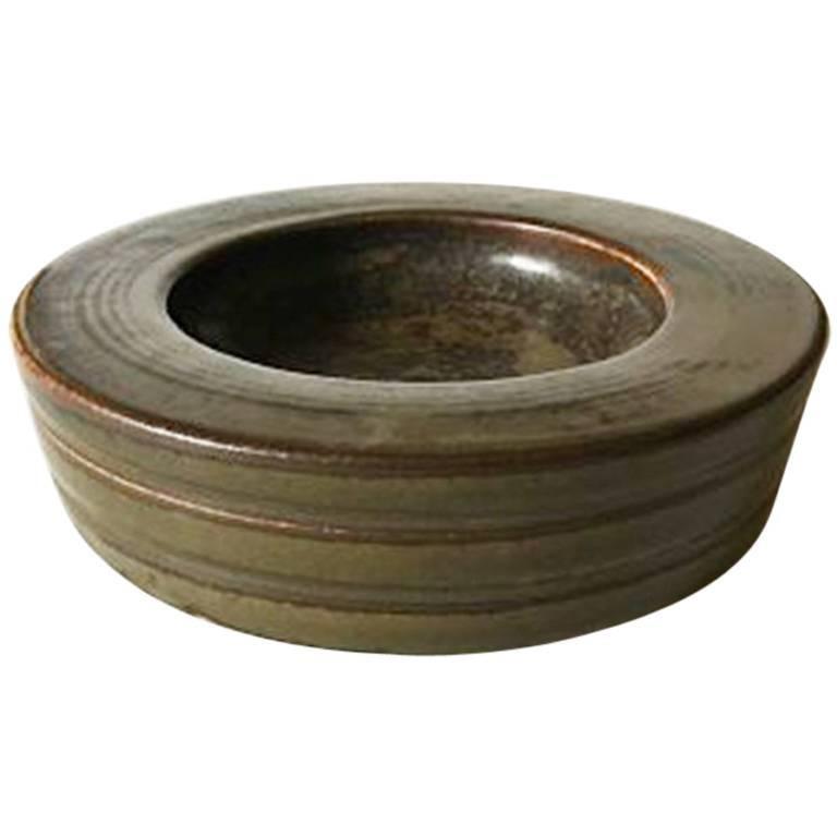 Bing & Grondahl Stoneware Dish No. 7230 Valdemar Petersen
