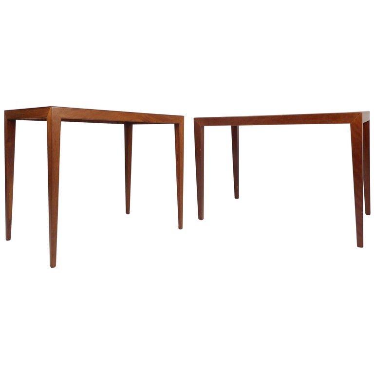 Pair of Midcentury Danish End Tables