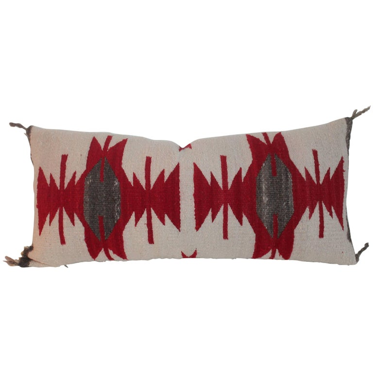 Navajo Indian Weaving / Saddle Blanket Pillow For Sale
