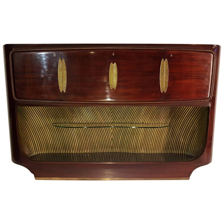 Vittorio Dassi Sideboard and Bar Cabinet