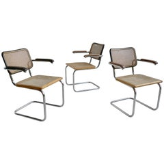 Marcel Breuer S64 Chairs by Thonet Early Editions