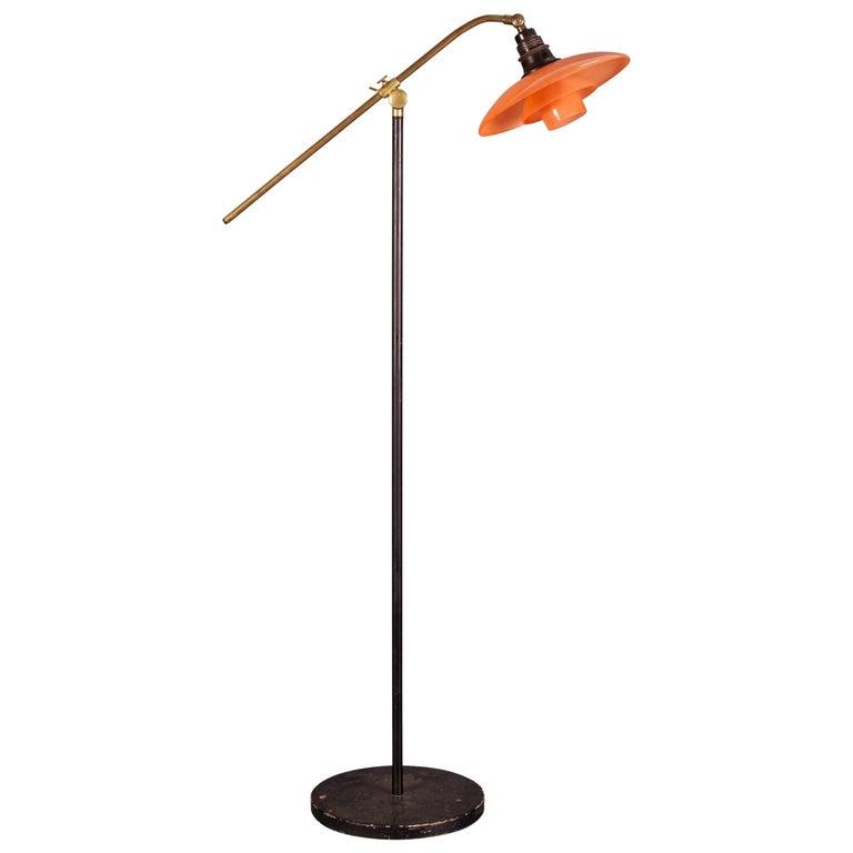 Mid century modern scandinavian floor lamp by poul for Modern floor lamp philippines