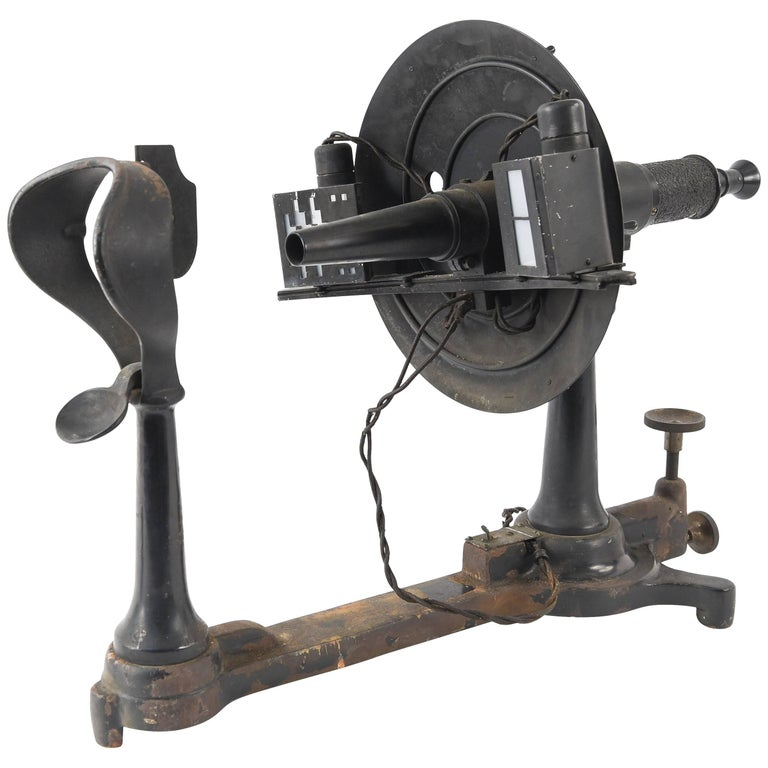 Antique Ophthalmometer Eye Machine by General Optical Company
