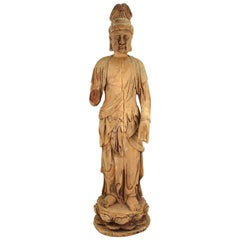 Carved Buddha Statue