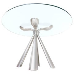 Table in the Style of Vittorio Introini for Saporiti, Italy, 1970s