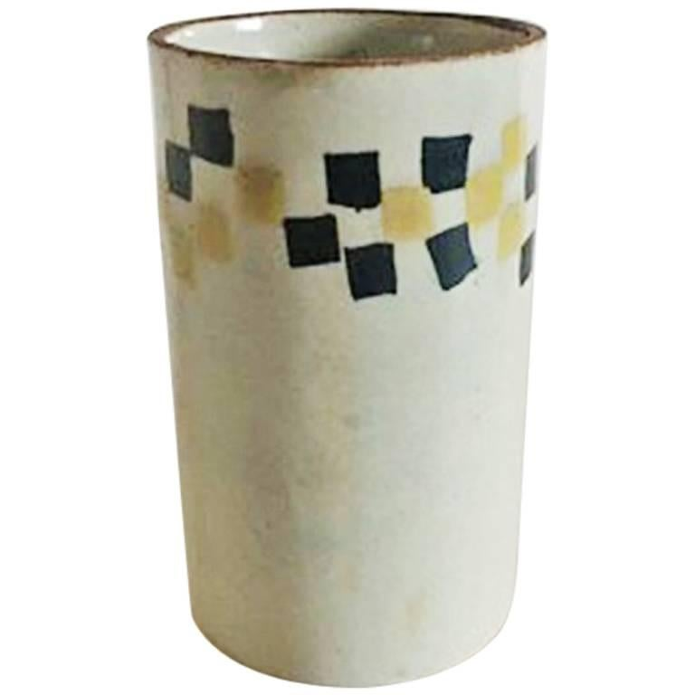 Bing & Grondahl Modern Stoneware Vase