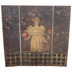 George Hulbe Painted Screen
