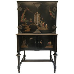 1920's American Chinese Style Cabinet