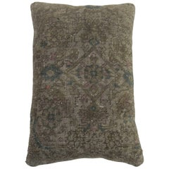 Vintage Persian Shabby Chic Rug Pillow