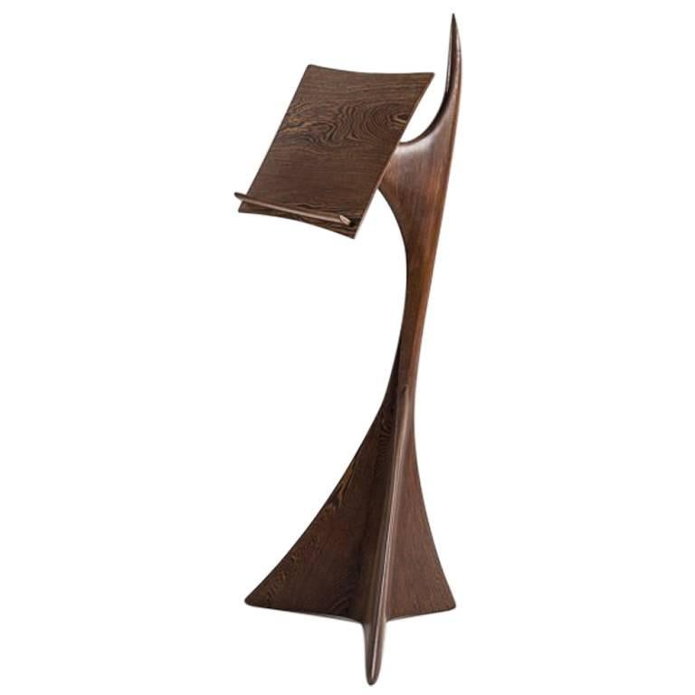 Michael Coffey, Carved Music Stand, United States, 1987 For Sale