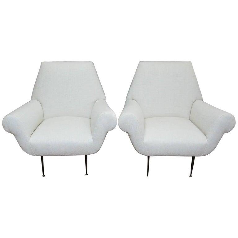 Gigi Radice Lounge Chairs for Minotti