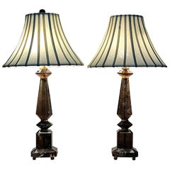 Rock crystal table lamps 261 for sale at 1stdibs pair of 20th century smoky rock crystal table lamps mozeypictures Gallery