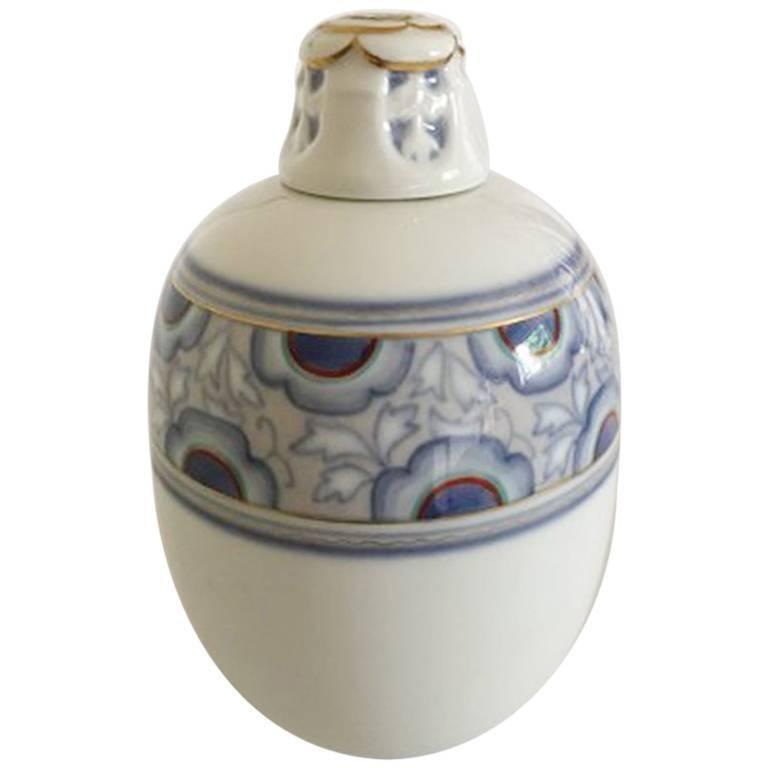 Bing & Grondahl Art Nouveau Vase by Clara Nielsen and Theodor Larsen #P44/282