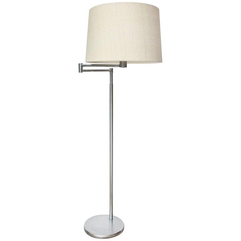 Nessen Studio Swing Arm Floor Lamp
