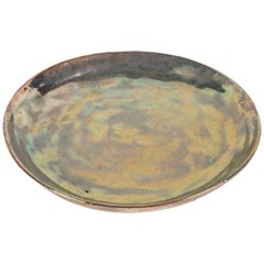 Beatrice Wood Iridescent Earthenware Charger