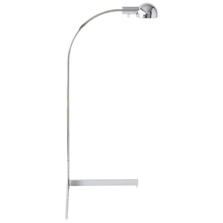 Cedric Hartman Chrome Floor Lamp