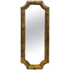 Italian Florentia Bamboo Style Mirror