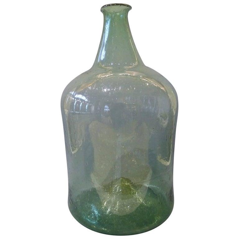 Large Translucent Bottle, 18th Century