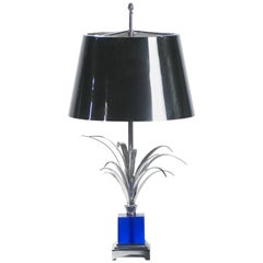 Maison Charles Signed Table Lamp, 1970s