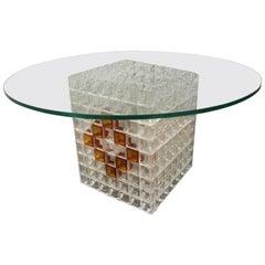 Rare Albano Poli Table Coffe Poliarte Design Made in Italy