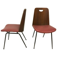 Pair of Gastone Rinaldi Du22 Chairs
