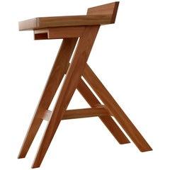 Contemporary, Mlambo Stool, Wooden Stool, Handmade, Finished with Satin Sealer