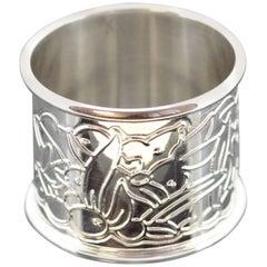Silver Napkin Ring Asprey, London, 2003