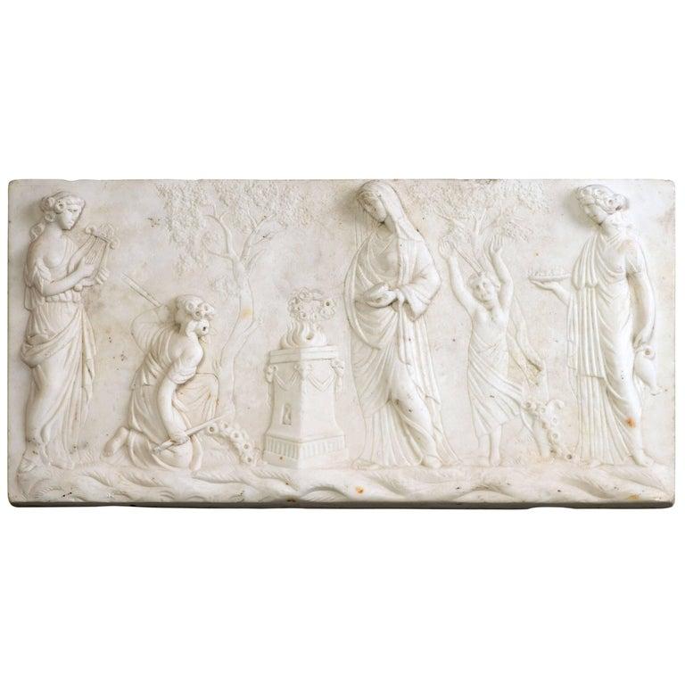 Marble Tablet, circa 1800
