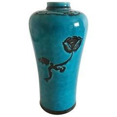 Bing & Grondahl Art Nouveau Vase by Jo Ann Locher #575