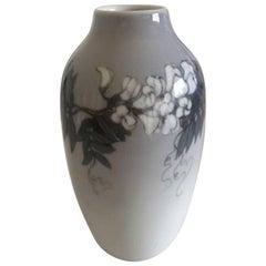 Royal Copenhagen Art Nouveau Vase with Flower Motif #1305/239