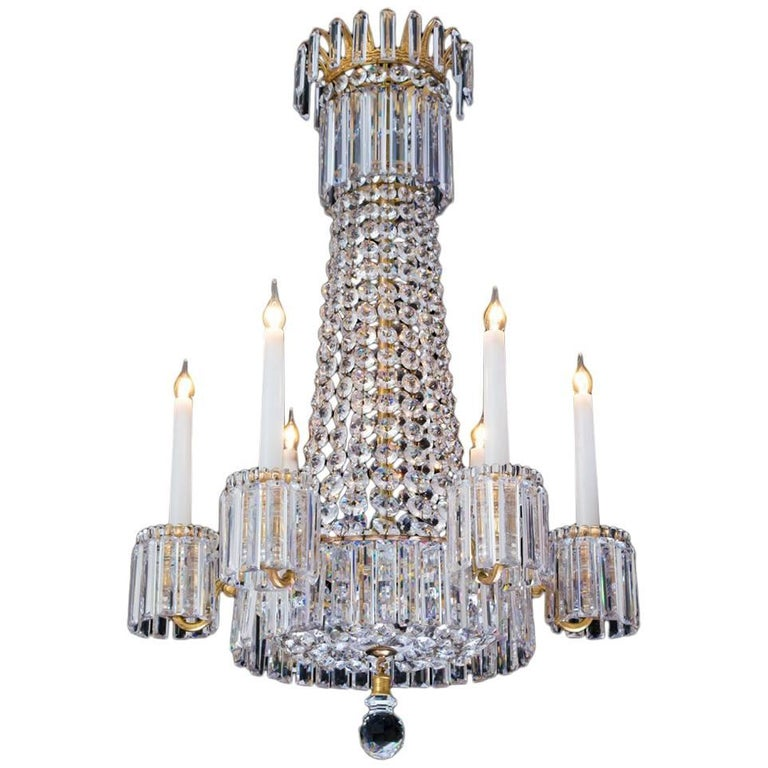 Fine regency chandelier by john blades at 1stdibs fine regency chandelier by john blades for sale mozeypictures Choice Image
