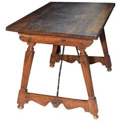 Table, Walnut and Iron, Spain, 16th Century