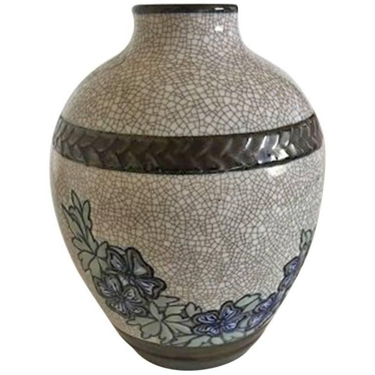 Bing & Grondahl Unique Vase by Effie Hegermann-Lindencrone #1850 For Sale