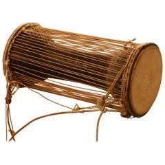 Antique Sub-Sahara African Talking Drum