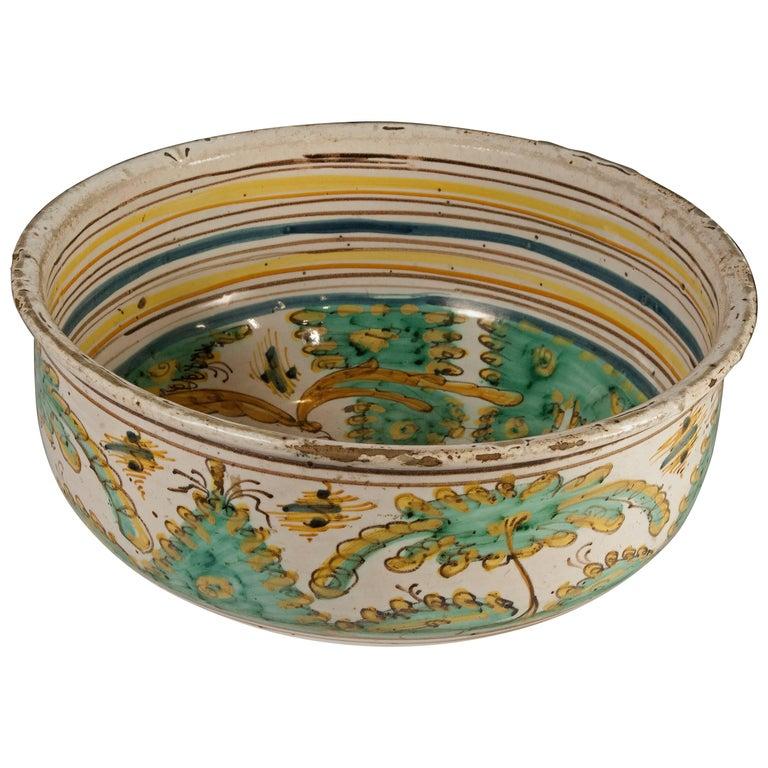 Bowl, Talavera, Spain, Late 17th-Early 18th Century