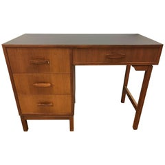 Mid-Century Modern Danish Walnut Writing Desk