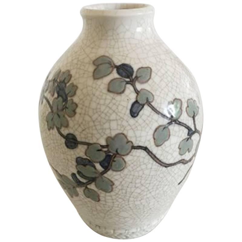 Bing & Grondahl Unique Vase by Effie Hegermann-Lindencrone from 1937