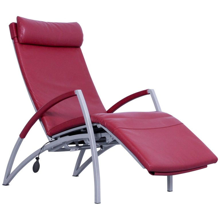 Remarkable Interprofil Pax Designer Relax Armchair Red Leather Relax Recliner Tv Chair Onthecornerstone Fun Painted Chair Ideas Images Onthecornerstoneorg