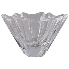 Swedish Crystal Orion Bowl by Lars Hellsten for Orrefors, 20th Century
