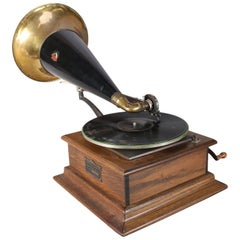 Antique Victor Talking Machine Phonograph Type P. 6858