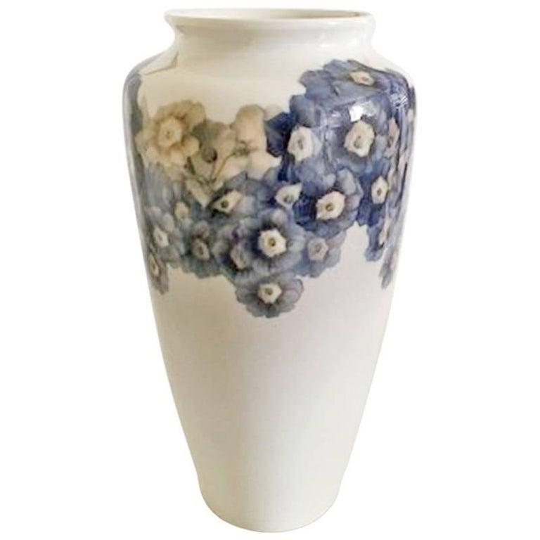 Bing & Grondahl Unique Art Nouveau Vase by Jo Nielsen For Sale