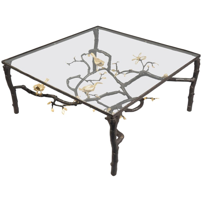 Wrought Iron Sculptural Coffee Table by Paula Swinnen, Belgium, 2017 For Sale