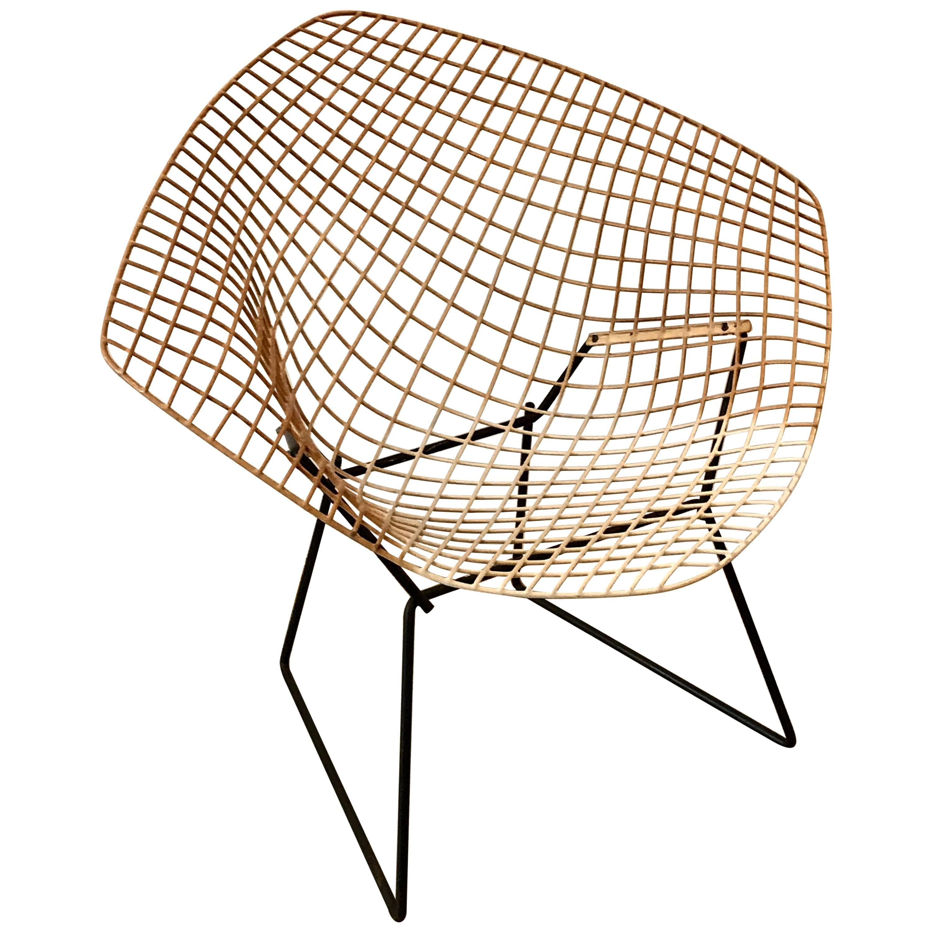 mid century modern diamond chair by harry bertoia for knoll early 1960s Diamond T mid century modern diamond chair by harry bertoia for knoll early 1950s for sale at 1stdibs
