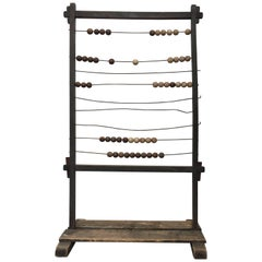 Antique Eastern European School Abacus, Early 20th Century