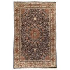 Vintage Oversize Persian Tabriz Rug