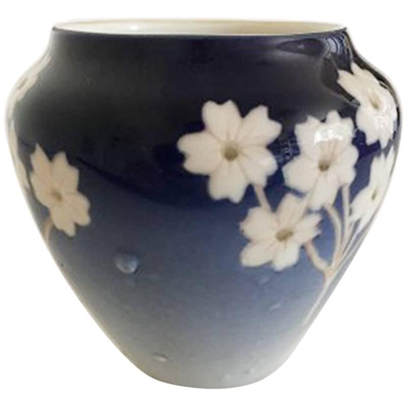 Bing and Grondahl Art Nouveau Unique Vase by TS