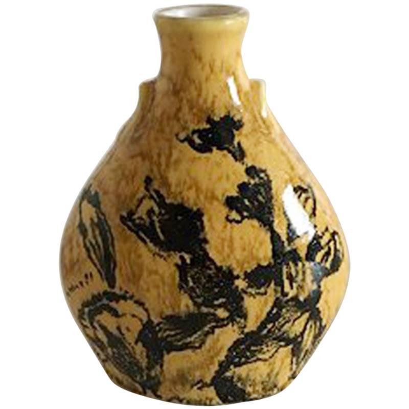 Bing and Grondahl Unique Vase by Cathinka Olsen