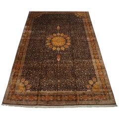 Pure Silk Indo-Ardebil Rug