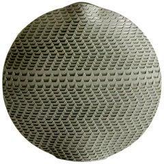Contemporary Akan K32 Ceramic Vase Limited Edition, Handmade in France