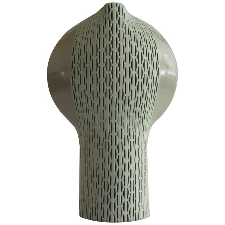 Calice C5 by Hélène Morbu, Limited Edition Handmade Ceramic Vase, France